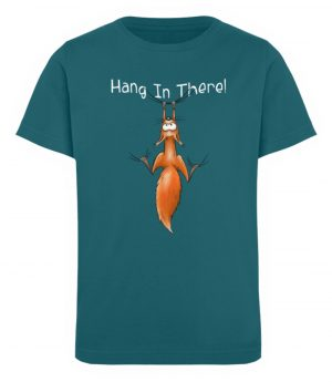 Hang In There | Lässiges Eichhörnchen - Kinder Organic T-Shirt-6889