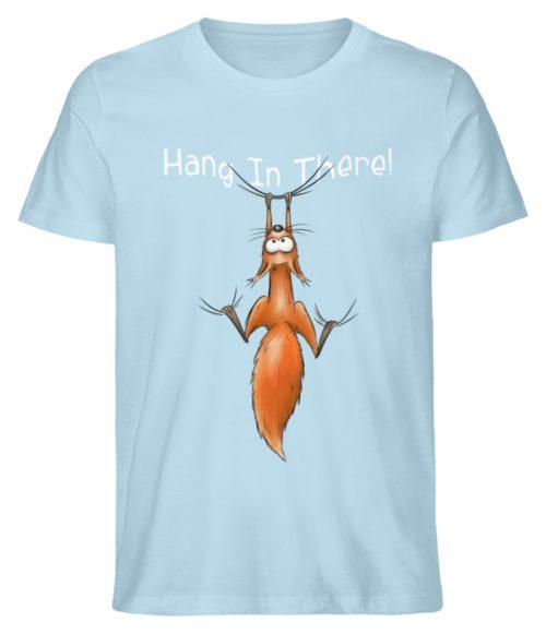Hang In There | Lässiges Eichhörnchen - Herren Shirt-6888