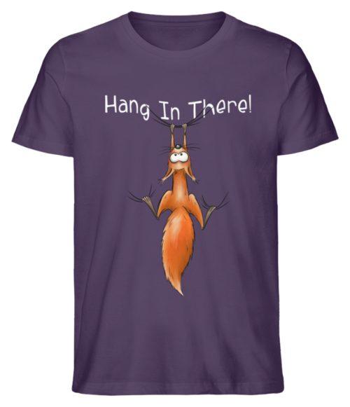 Hang In There | Lässiges Eichhörnchen - Herren Shirt-6884