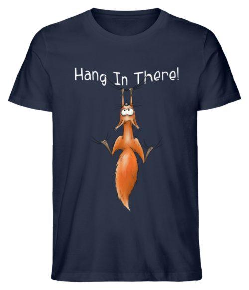 Hang In There | Lässiges Eichhörnchen - Herren Shirt-6887