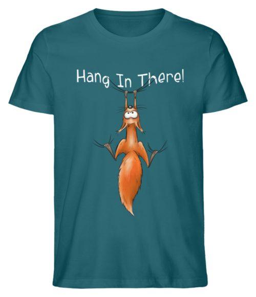 Hang In There | Lässiges Eichhörnchen - Herren Shirt-6889