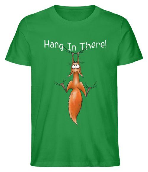 Hang In There | Lässiges Eichhörnchen - Herren Shirt-6890