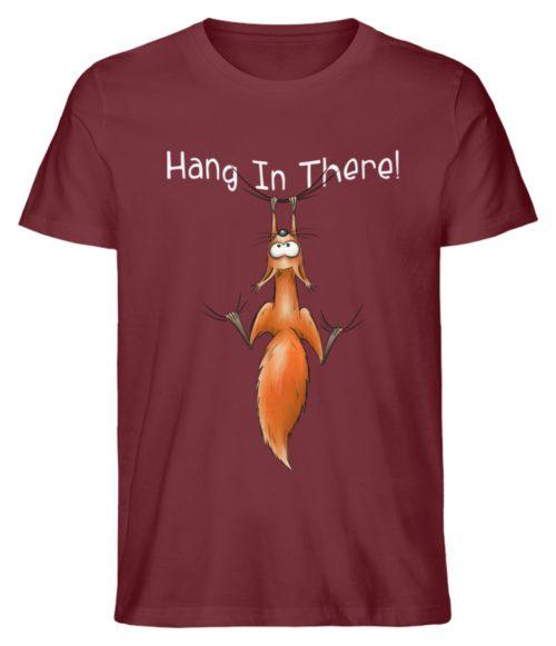 Hang In There | Lässiges Eichhörnchen - Herren Shirt-6883