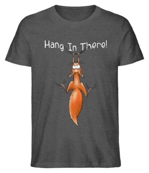 Hang In There | Lässiges Eichhörnchen - Herren Shirt-6898