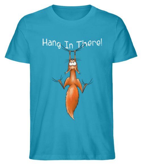 Hang In There | Lässiges Eichhörnchen - Herren Shirt-6885