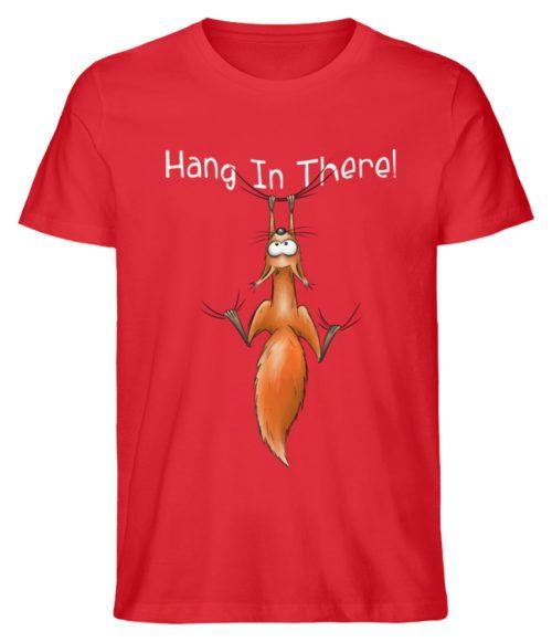 Hang In There | Lässiges Eichhörnchen - Herren Shirt-6882