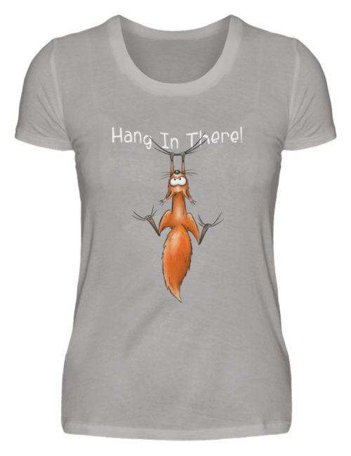Hang In There   Lässiges Eichhörnchen - Damen Premiumshirt-2998