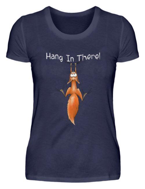 Hang In There   Lässiges Eichhörnchen - Damen Premiumshirt-198