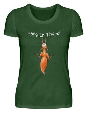 Hang In There | Lässiges Eichhörnchen - Damen Premiumshirt-2936