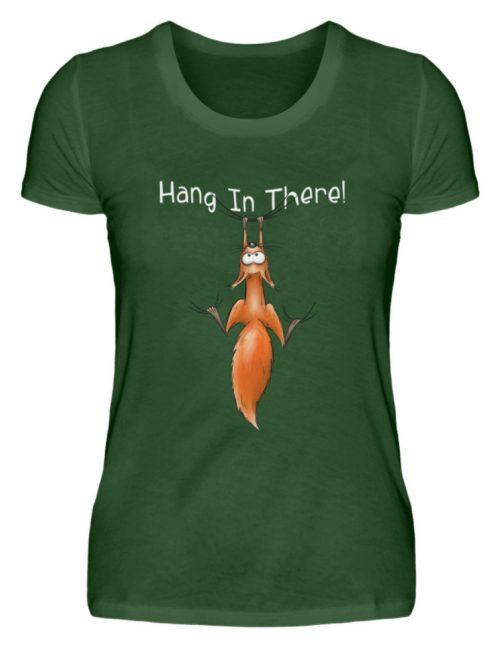 Hang In There   Lässiges Eichhörnchen - Damen Premiumshirt-2936