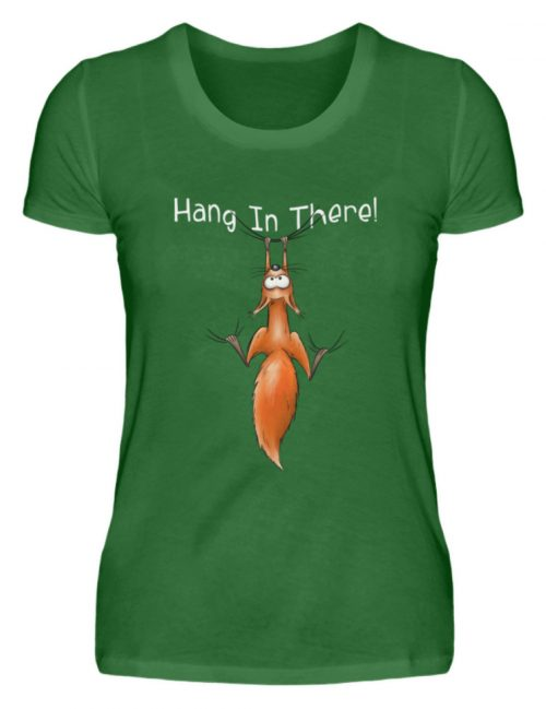Hang In There   Lässiges Eichhörnchen - Damen Premiumshirt-30