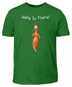 Hang In There | Lässiges Eichhörnchen - Kinder T-Shirt-718