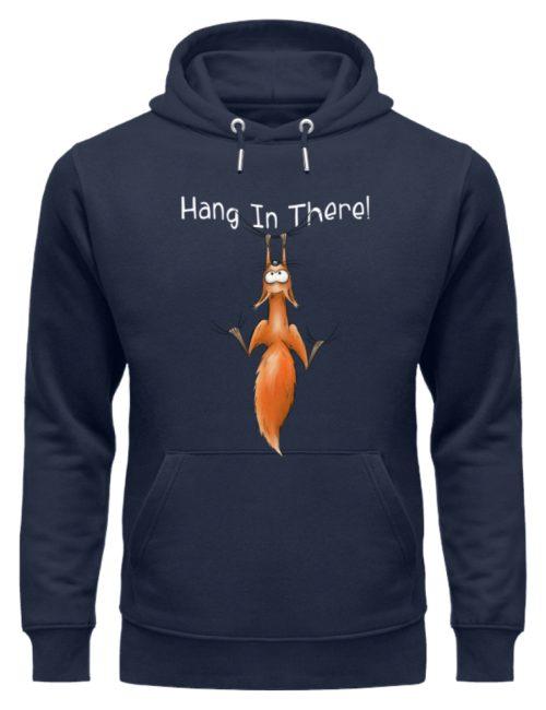 Hang In There   Lässiges Eichhörnchen - Unisex Organic Hoodie-6887