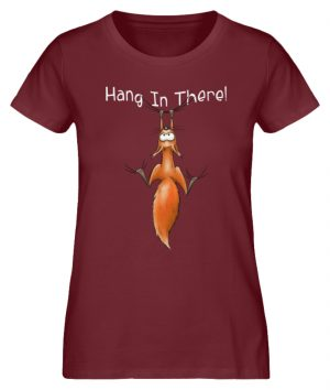 Hang In There | Lässiges Eichhörnchen - Damen Premium Organic Shirt-6883