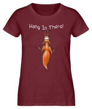 Hang In There | Lässiges Eichhörnchen - Damen Premium Organic Shirt-6883