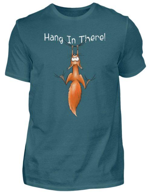 Hang In There | Lässiges Eichhörnchen - Herren Shirt-1096