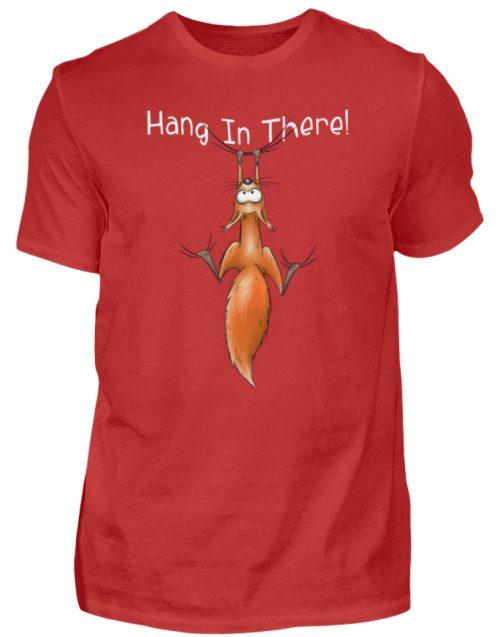 Hang In There | Lässiges Eichhörnchen - Herren Shirt-4