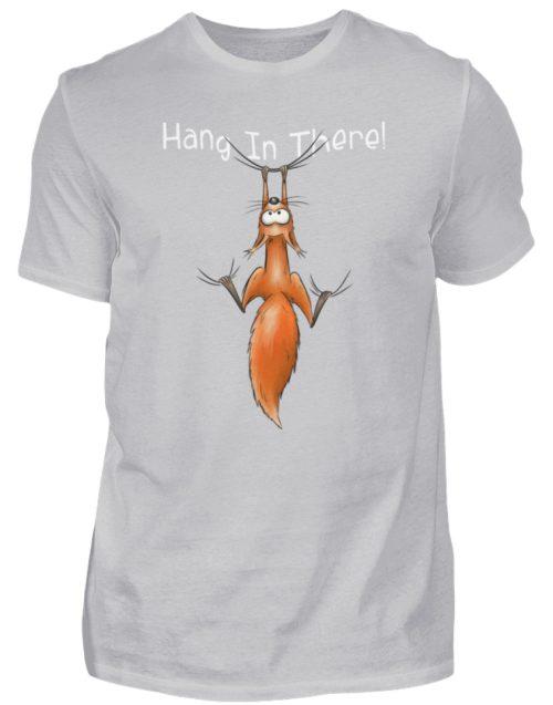 Hang In There | Lässiges Eichhörnchen - Herren Shirt-17