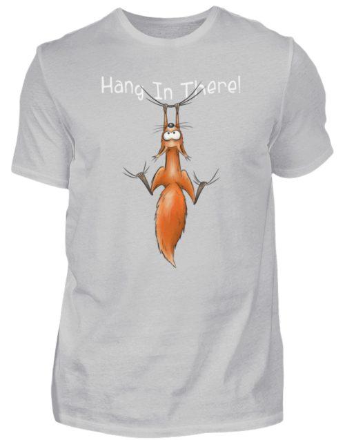 Hang In There | Lässiges Eichhörnchen - Herren Shirt-1157