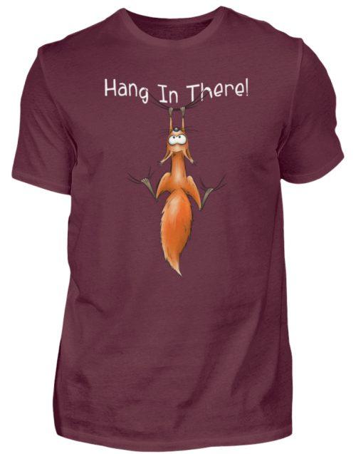 Hang In There | Lässiges Eichhörnchen - Herren Shirt-839