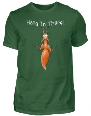 Hang In There | Lässiges Eichhörnchen - Herren Shirt-833