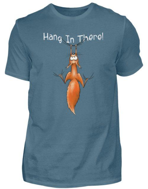 Hang In There | Lässiges Eichhörnchen - Herren Shirt-1230