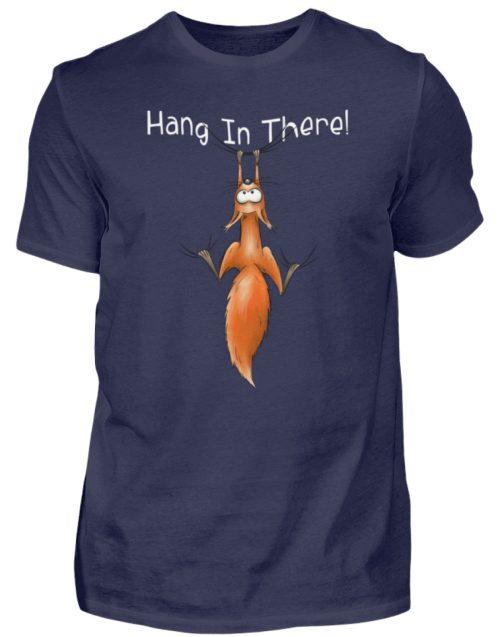 Hang In There | Lässiges Eichhörnchen - Herren Shirt-198
