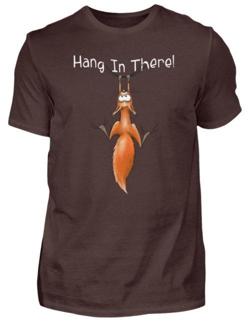 Hang In There | Lässiges Eichhörnchen - Herren Shirt-1074