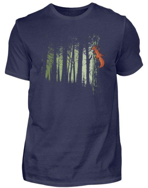 Eichhörnchen im Zwielicht-Wald - Herren Shirt-198