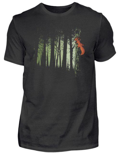 Eichhörnchen im Zwielicht-Wald - Herren Shirt-16