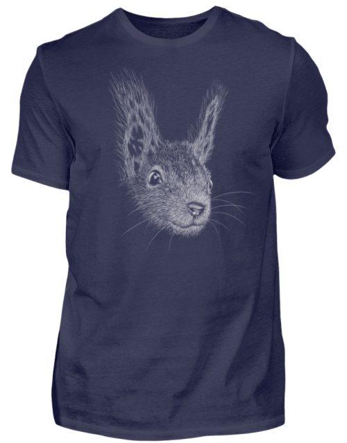 Eichhörnchen Bleistift Illustration - Herren Shirt-198