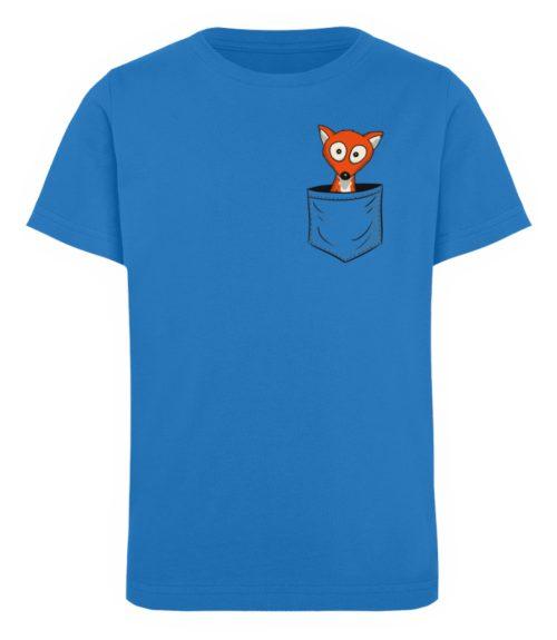 Fuchs in der Brusttasche   Taschen-Fuchs - Kinder Organic T-Shirt-6886