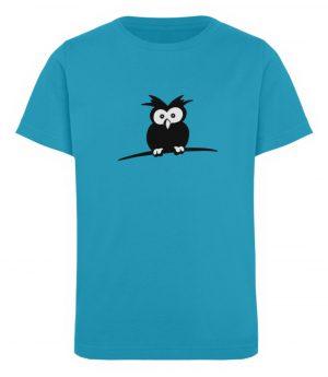 struppige Eule - das Shirt ist ein Muß für alle aufgeweckten Eulen-Fans - Kinder Organic T-Shirt-6885