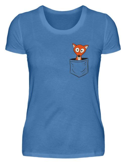 Fuchs in der Brusttasche | Taschen-Fuchs - Damen Premiumshirt-2894