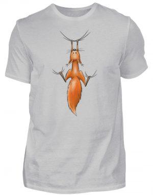 Eichhörnchen hängt ab - Herren Shirt-1157