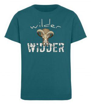 Wilder Widder | Mufflon Cooles Wild-Schaf - Kinder Organic T-Shirt-6889