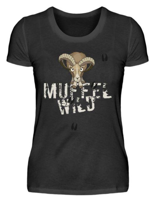 Muffel Wild Mufflon - Damen Premiumshirt-16