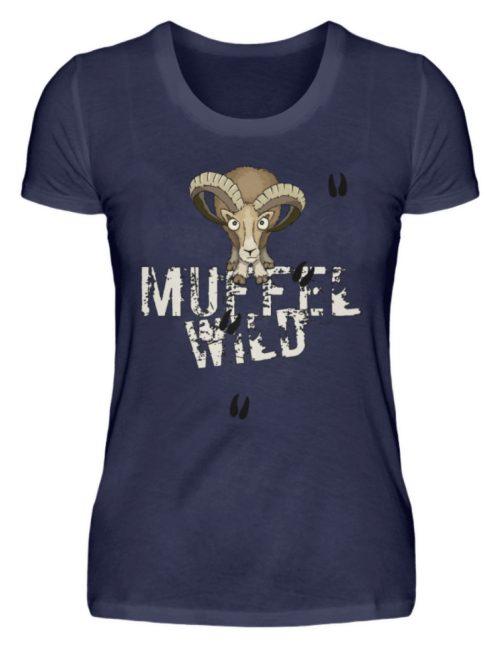 Muffel Wild Mufflon - Damen Premiumshirt-198