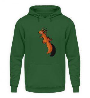 Süßes Eichhörnchen - Unisex Kapuzenpullover Hoodie-833