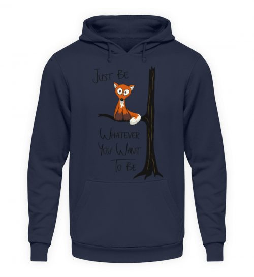 Just Be Whatever | Fuchs wie Eule - Unisex Kapuzenpullover Hoodie-1698