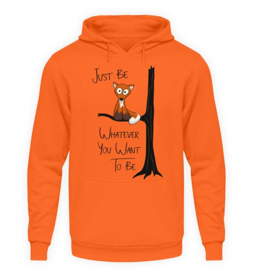 Just Be Whatever | Fuchs wie Eule - Unisex Kapuzenpullover Hoodie-1692
