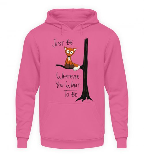 Just Be Whatever | Fuchs wie Eule - Unisex Kapuzenpullover Hoodie-1521