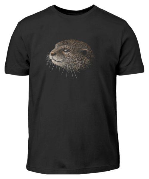 Otter Bleistift Zeichnung Kritzel-Kunst - Kinder T-Shirt-16