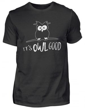 Its OWL good | Easy-Going Eule - Herren Shirt-16