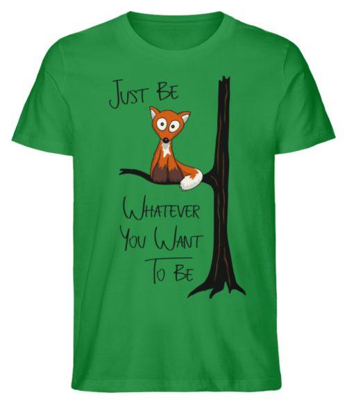 Just Be Whatever | Fuchs wie Eule - Herren Premium Organic Shirt-6890