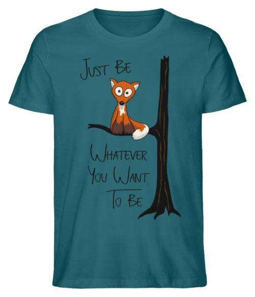 Just Be Whatever | Fuchs wie Eule - Herren Premium Organic Shirt-6889