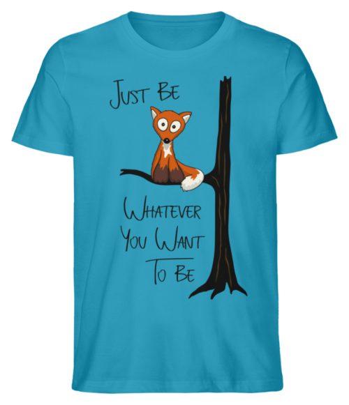 Just Be Whatever | Fuchs wie Eule - Herren Premium Organic Shirt-6885