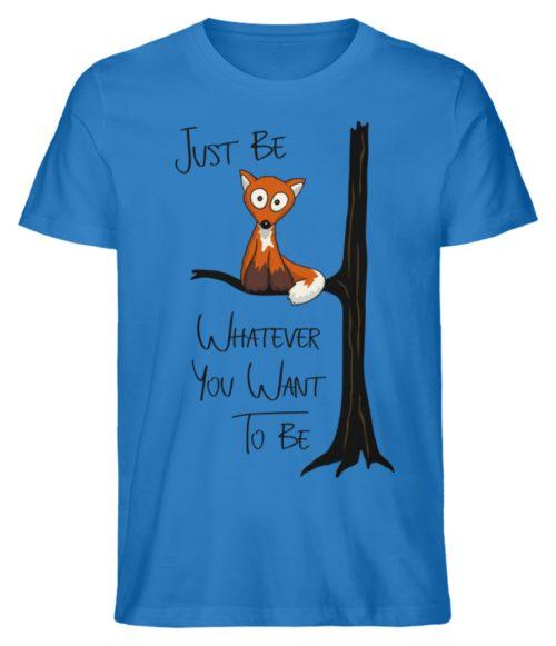 Just Be Whatever | Fuchs wie Eule - Herren Premium Organic Shirt-6886