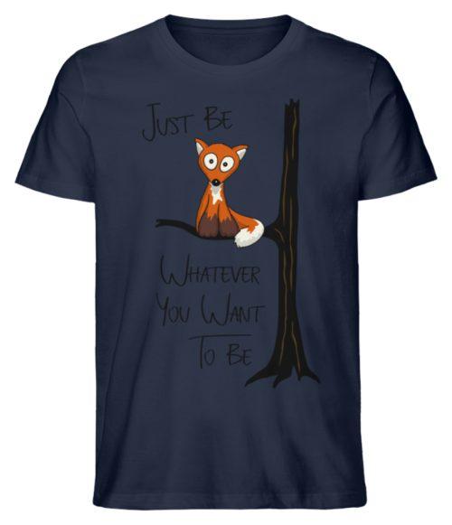 Just Be Whatever | Fuchs wie Eule - Herren Premium Organic Shirt-6887