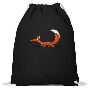 Lässiger cooler Fuchs | Mr. Fox, der Schleicher - Baumwoll Gymsac-16
